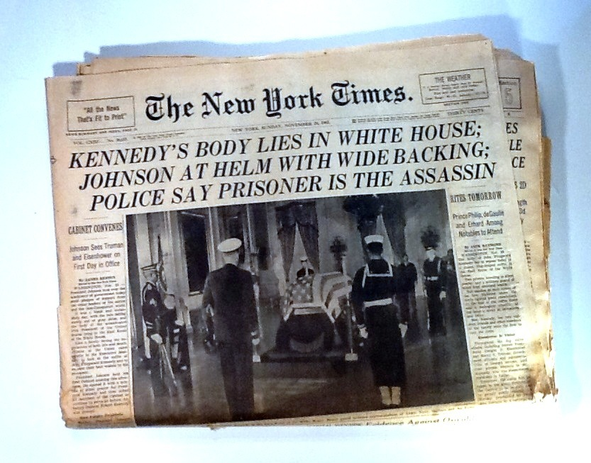 John F  Kennedy Assassination   The  York Times