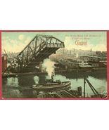 Cleveland Cuyahoga River Lift Bridge 1912 Postc... - $8.99