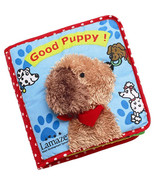 Lamaze Good Puppy Cloth Soft Book Touch and Fee... - $7.90