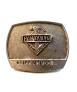 1996 Handyman Club Life Member Belt Buckle - def - $14.99