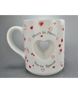 Papel Heart To Heart You re Special Heart Cut Out Coffee Mug Cup