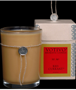 Vovivo Aromatic Glass Candle - Red Currant, No. 96