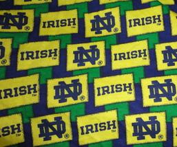 Notre Dame Fabric Scrap Remnant Cotton Fabric