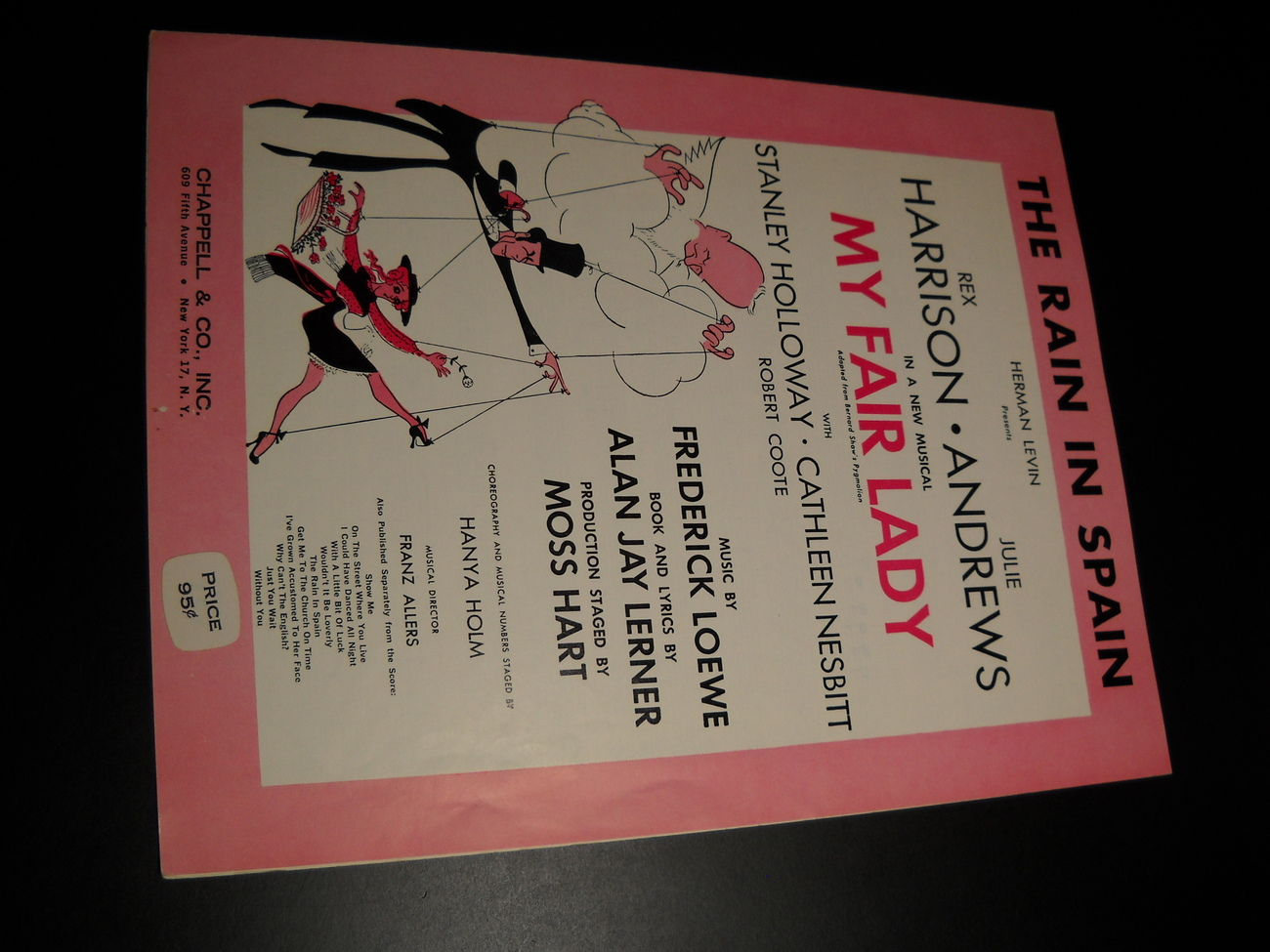 Sheet_music_the_rain_in_spain_my_fair_lady_harrison_andrews_1956_chappell__01