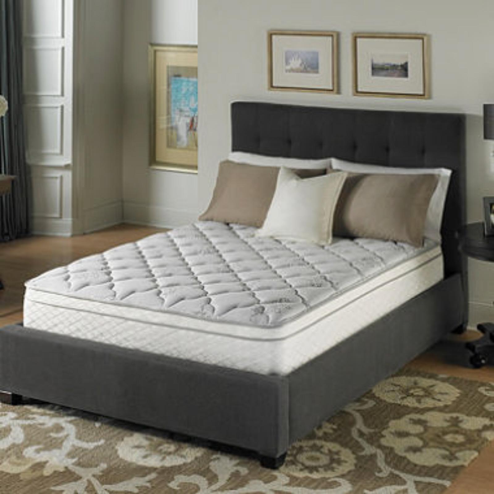 Serta Perfect Sleeper Dunbrook Plush Eurotop Mattress