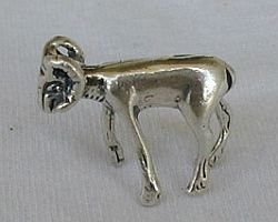 silver ram miniature
