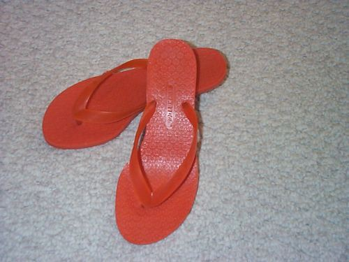 Rocket Dog Orange Thong Sandal - 6M & 7M  Rocket Dog
