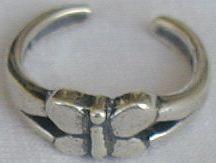 Butterfly toe ring   Bonanza