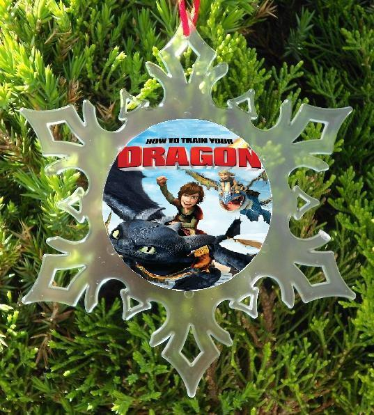 HOW TO TRAIN YOUR DRAGON  CHRISTMAS ORNAMENT - XMAS ORNAMENT