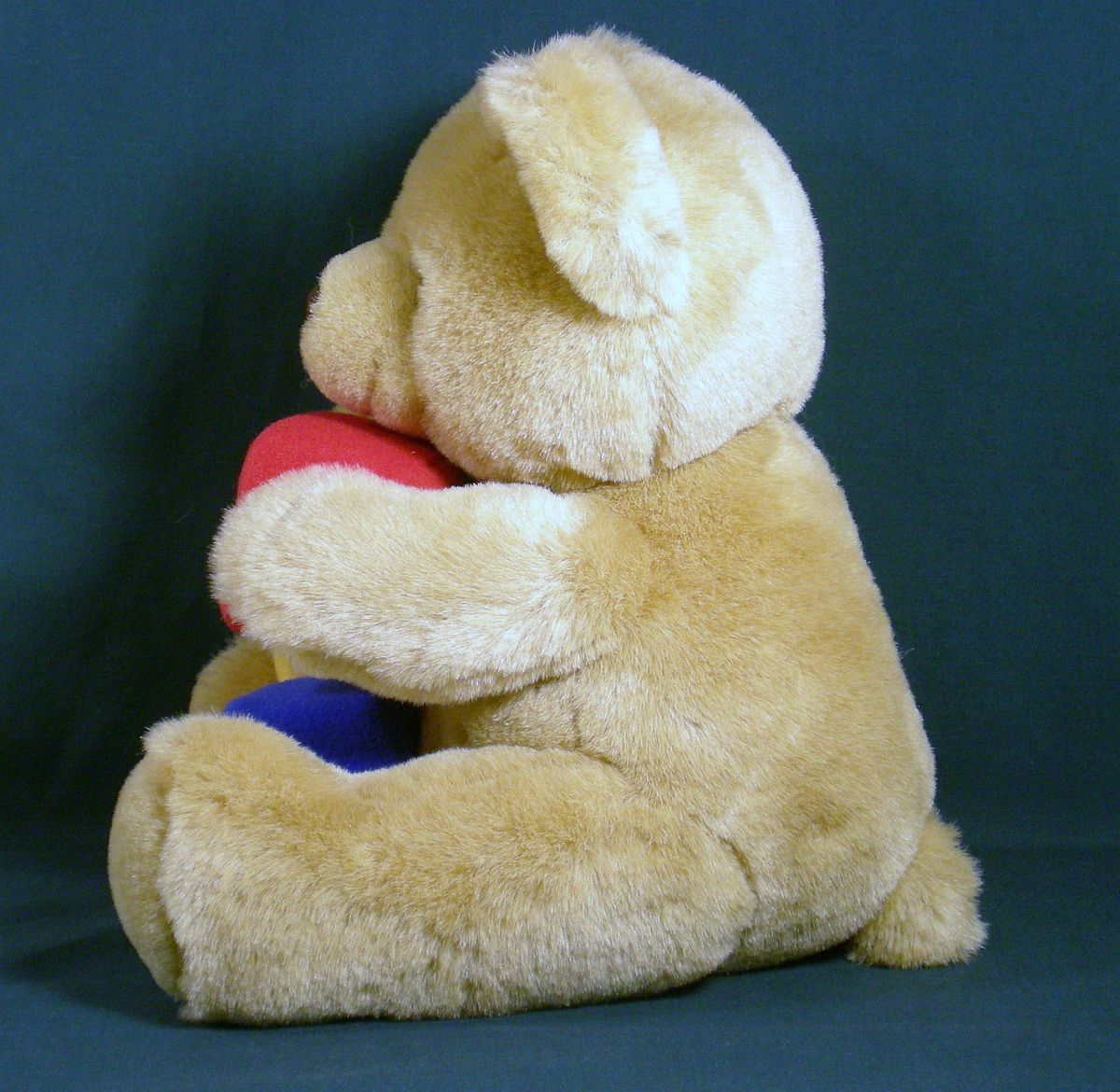 '.Alpha Block Teddy Bear 1992.'