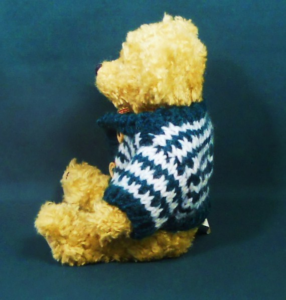 Image 1 of Holiday Teddy Bear 9 inch decorative accent gift