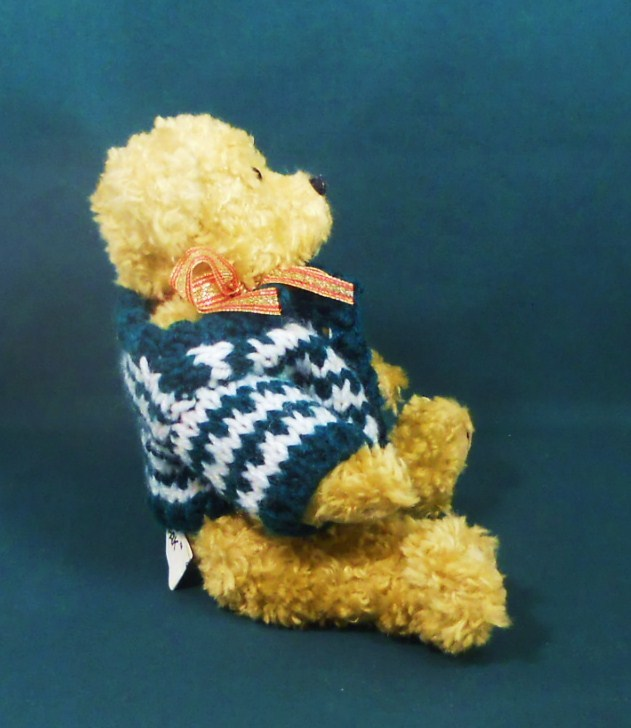 Image 3 of Holiday Teddy Bear 9 inch decorative accent gift