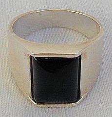 Onyx man ring-D Bonanza
