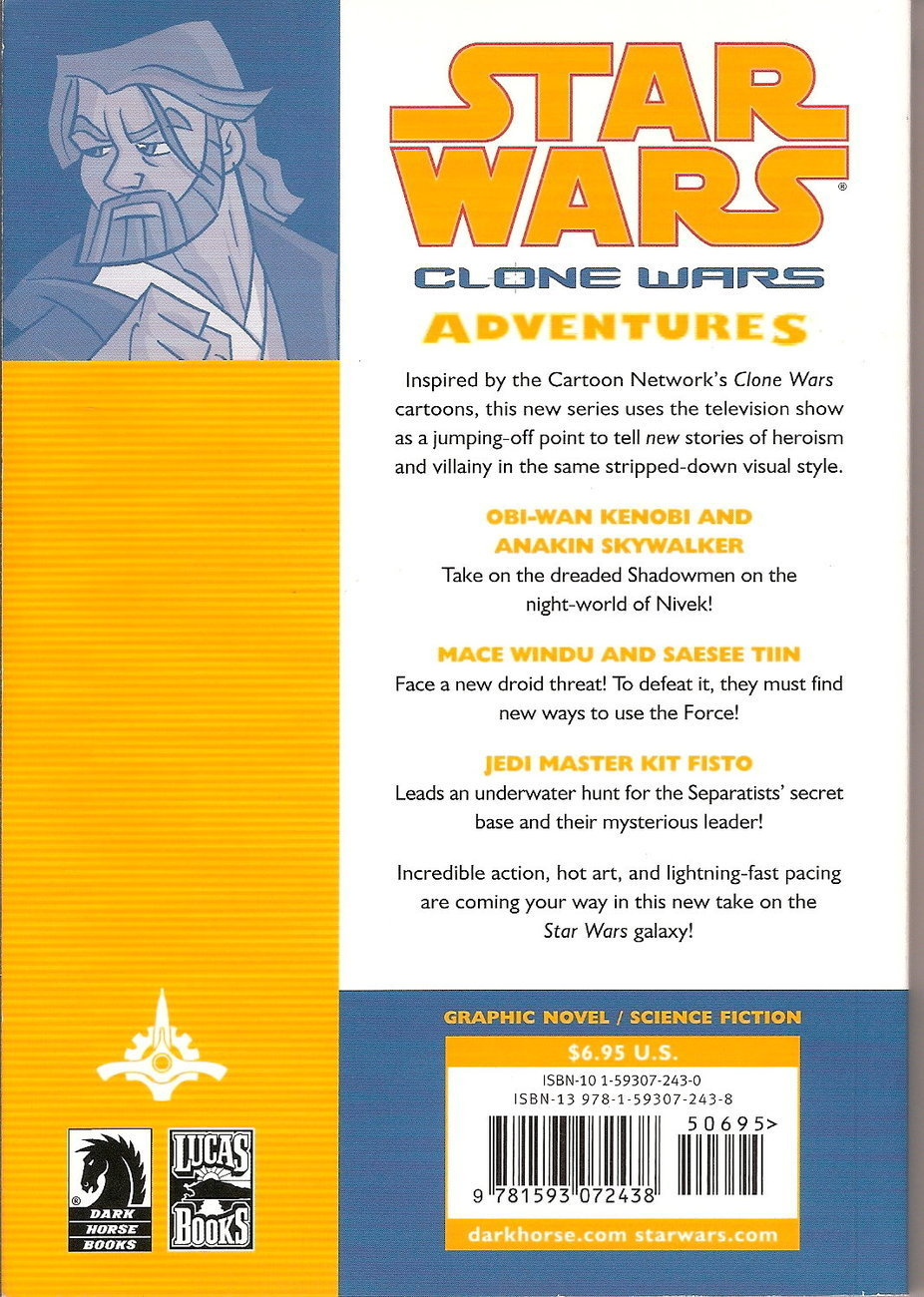 Image 1 of Clone Wars Adventures Vol 1 Star Wars Dark Horse Comic