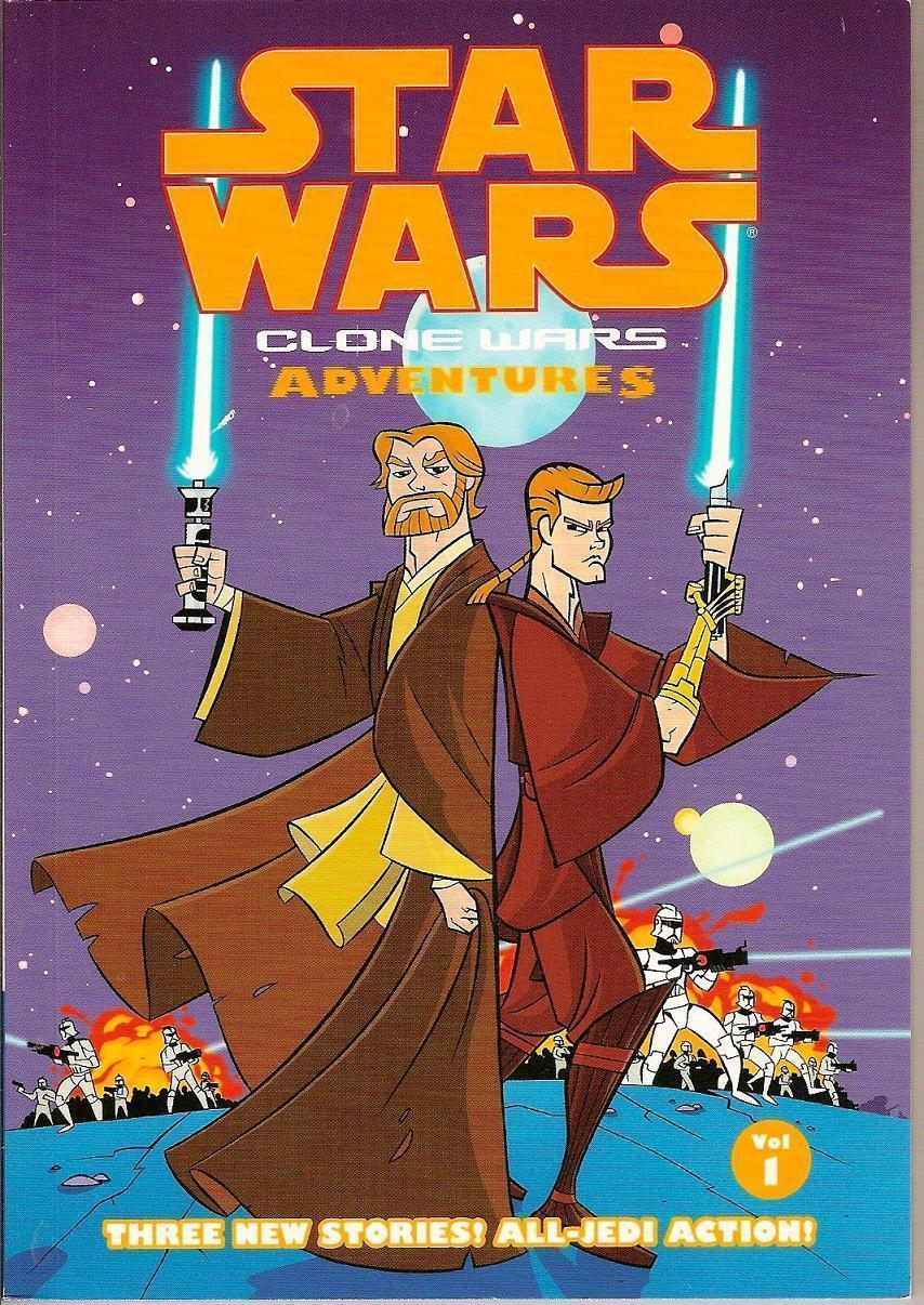 Image 0 of Clone Wars Adventures Vol 1 Star Wars Dark Horse Comic