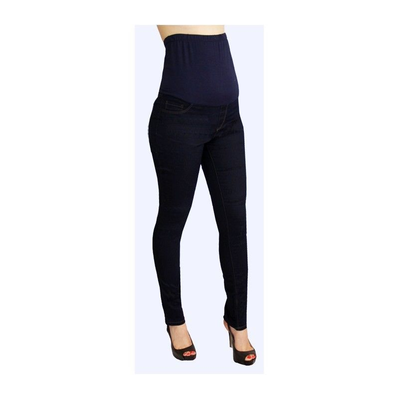 Sexy Fun Rayon Blend Maternity Jeans in Blue or Burgundy Denim S, M, L, XL USA -