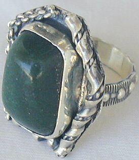 Green ring-hand made SR52 Bonanza