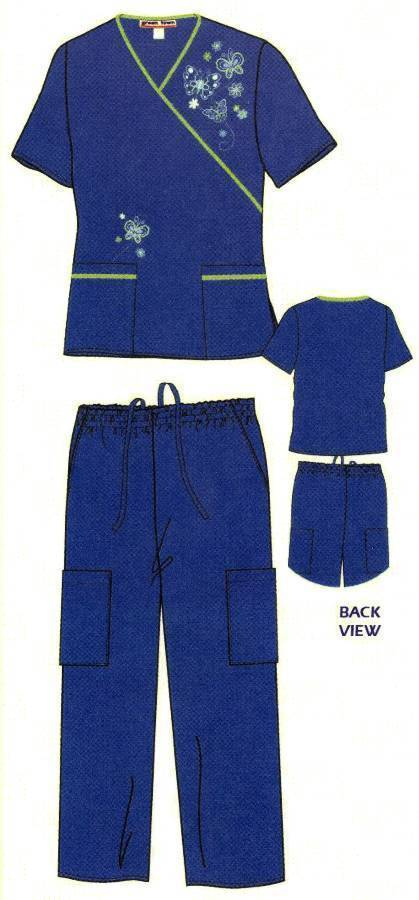 -embroidered_green_town_scrub_sets-