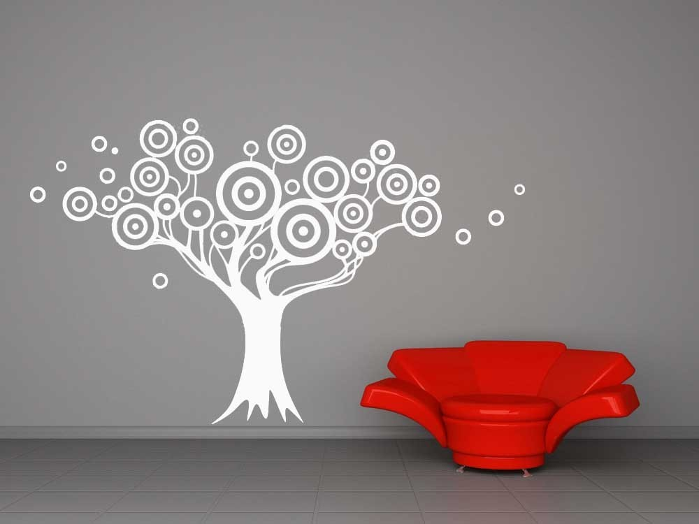 Wall Art Decals Target : Fun target tree vinyl wall art decal decals stickers
