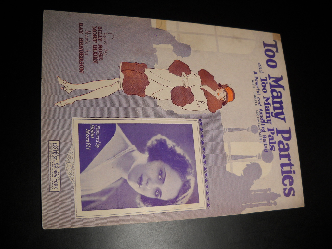 Sheet_music_too_many_parties_and_too_many_pals_helen_moretti_billy_rose_1925_leo_feist_01