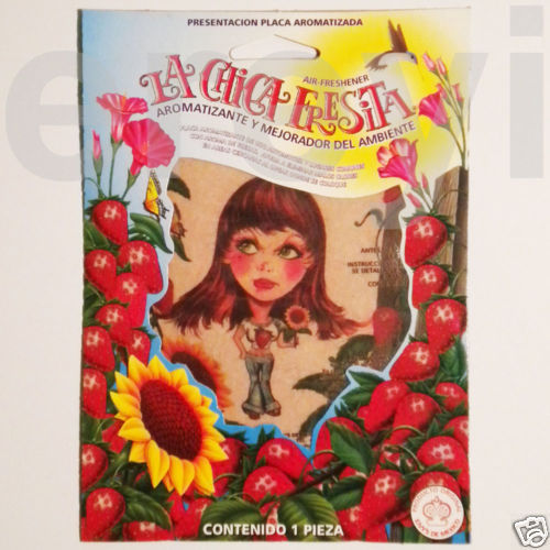 LA CHICA FRESITA AIR FRESHENER Strawberry Girl Smell