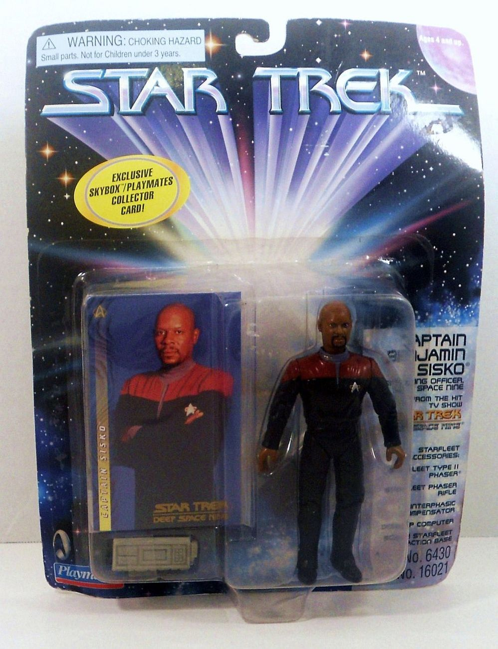Star Trek Deep Space Nine  Captain Benjamin Sisko Playmates 1997