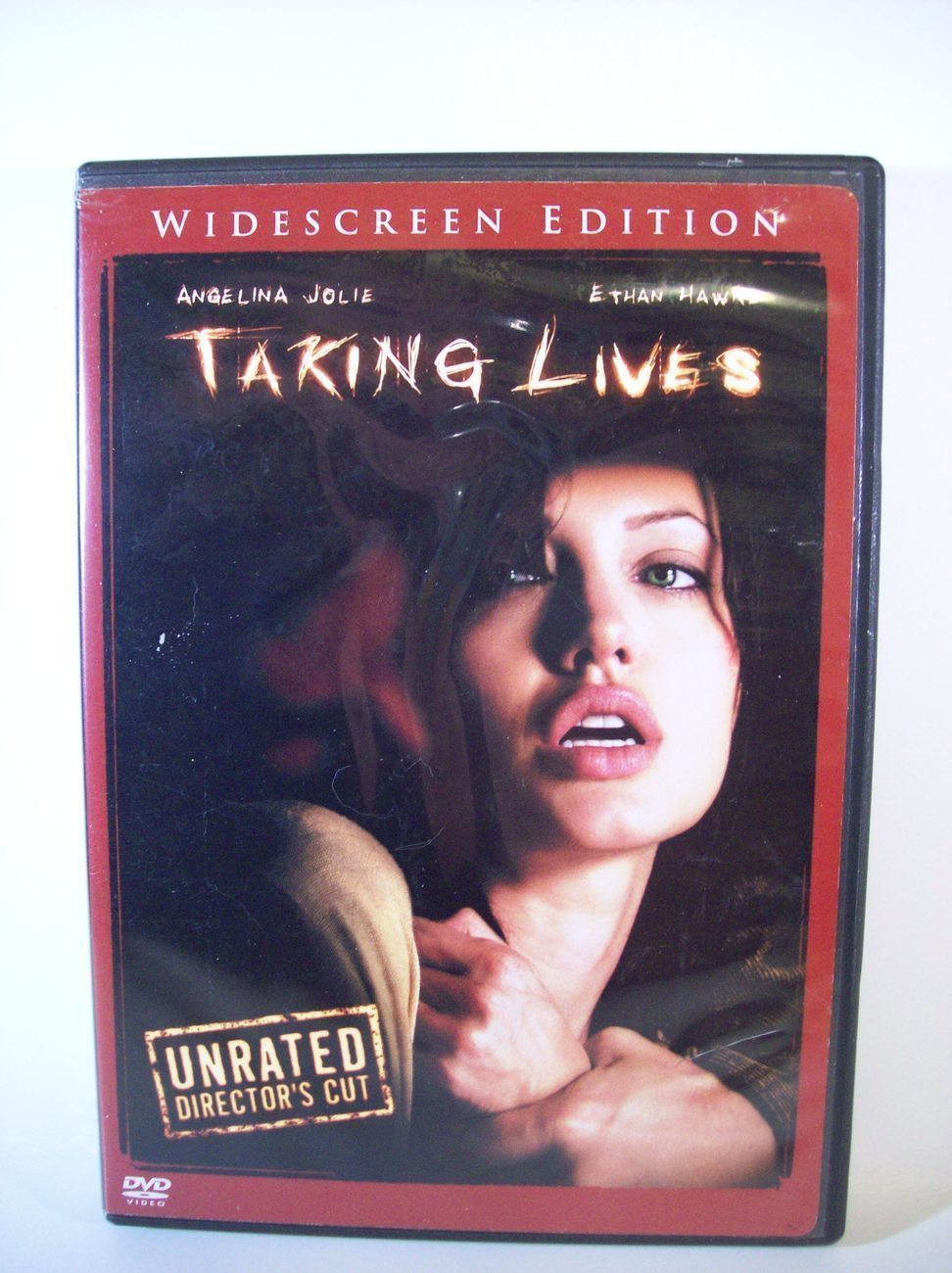 Taking Lives DVD Angelina Jolie Ethan Hawks