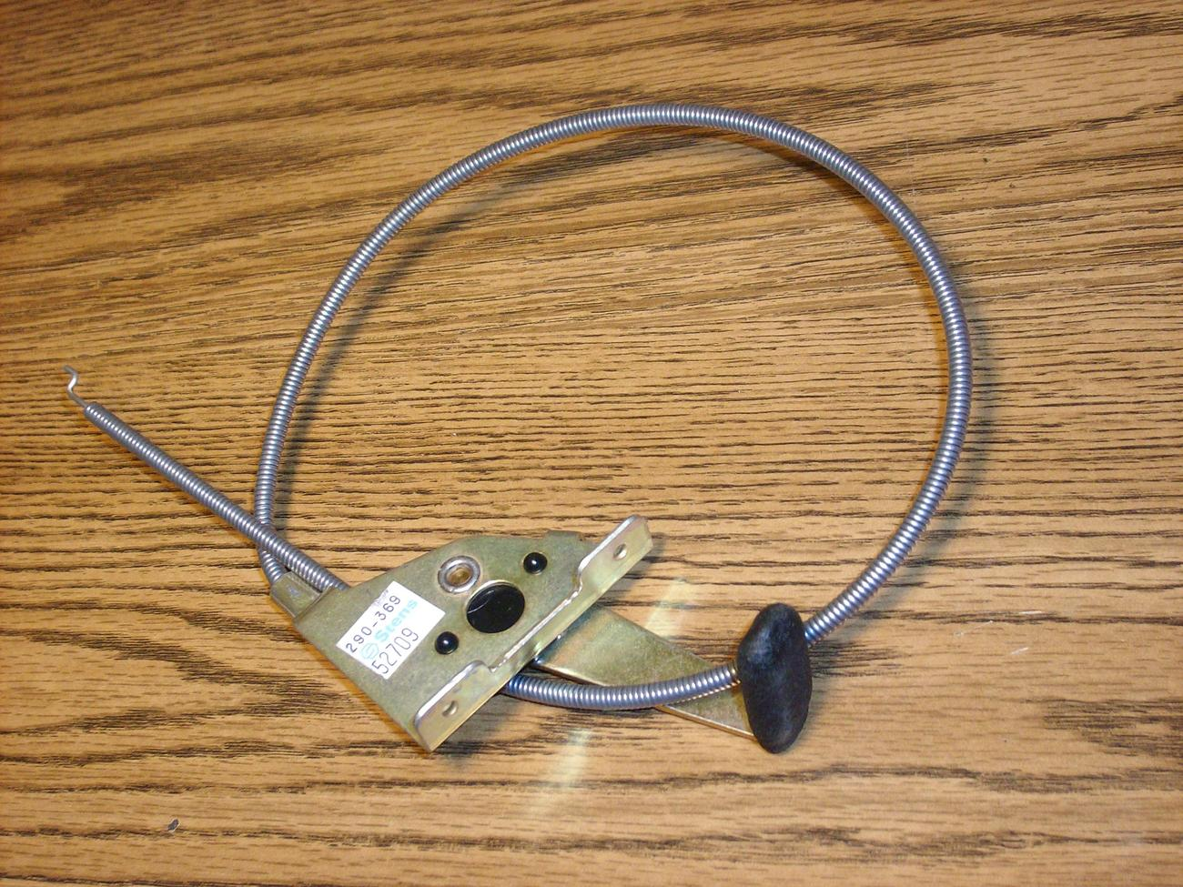 Tractor Throttle Control : Throttle control cable for murray riding lawn mower