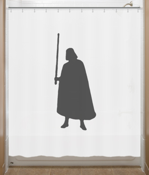 Darth Vader Shower Curtain Star Wars Shower Curtains