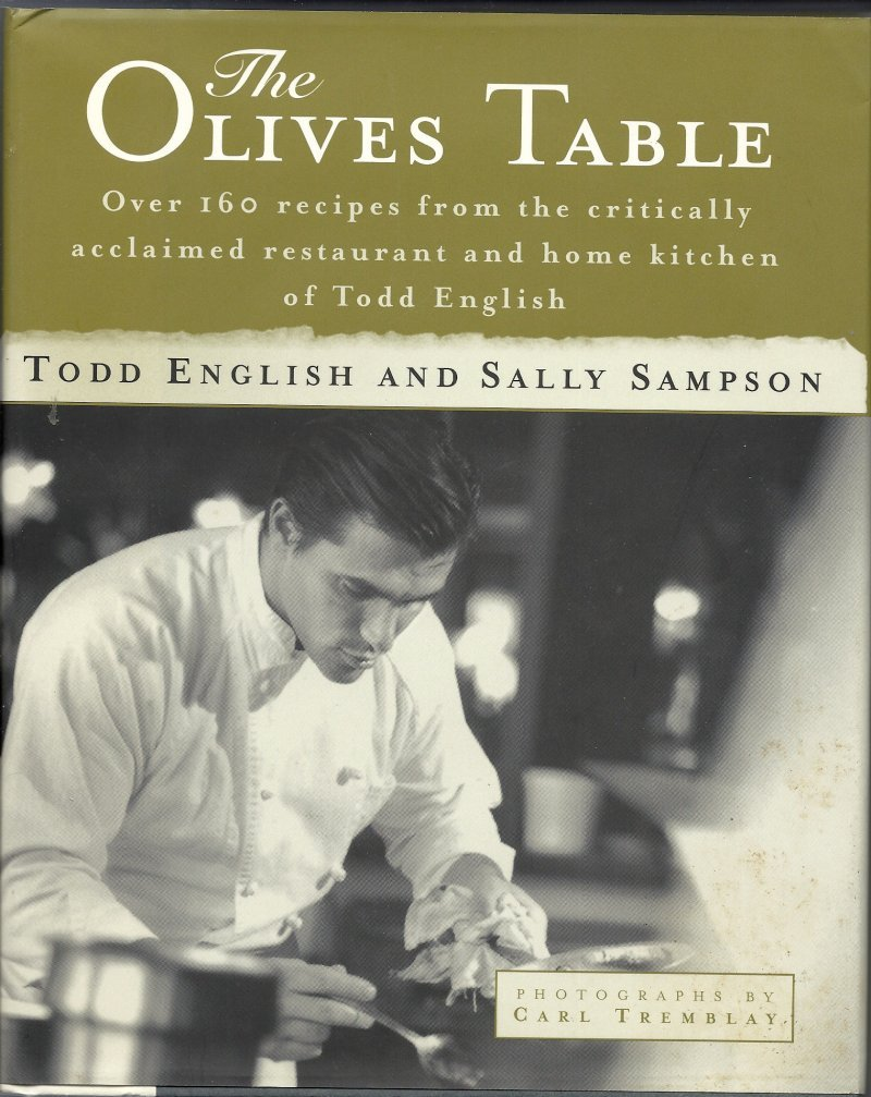 Olives Table Cookbook by Todd English & Sally Sampson
