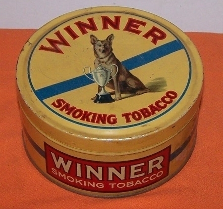 Winner Advertising Tin Vintage