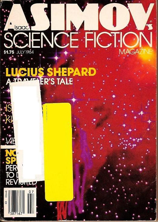 Isaac Asimov's Science Fiction Magazine July 1984