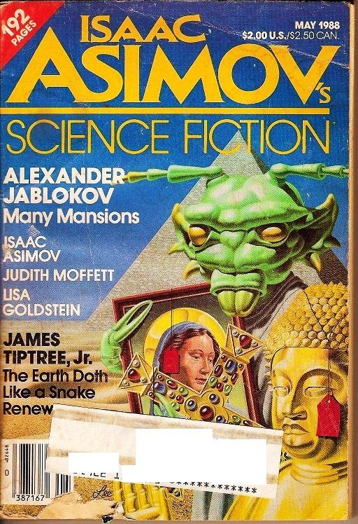 Isaac Asimov's Science Fiction Magazine May 1988
