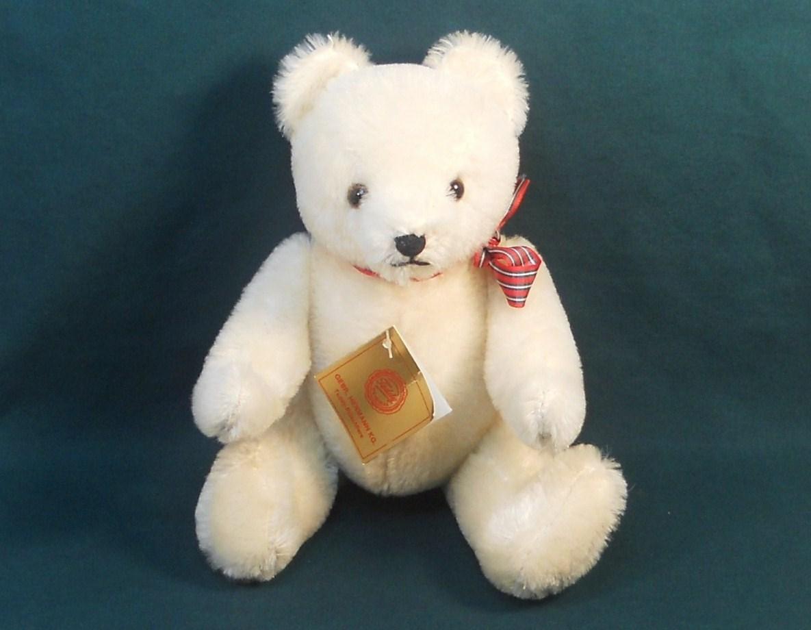 Gebr-Hermann Teddy Bear Original 10 inch P&E Rubin c1985