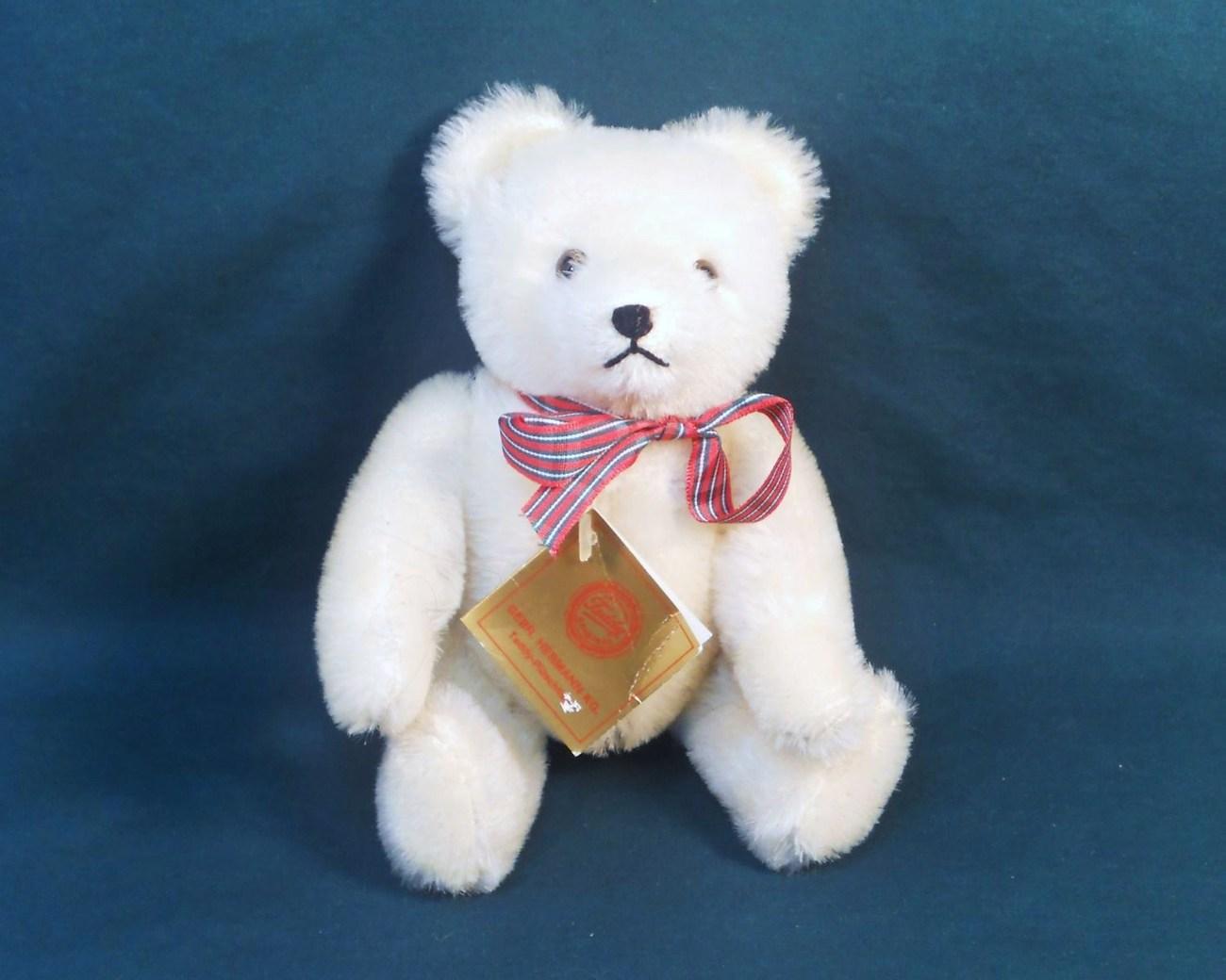 Gebr-Hermann Teddy Bear Original 7 inch for P&E Rubin 1985