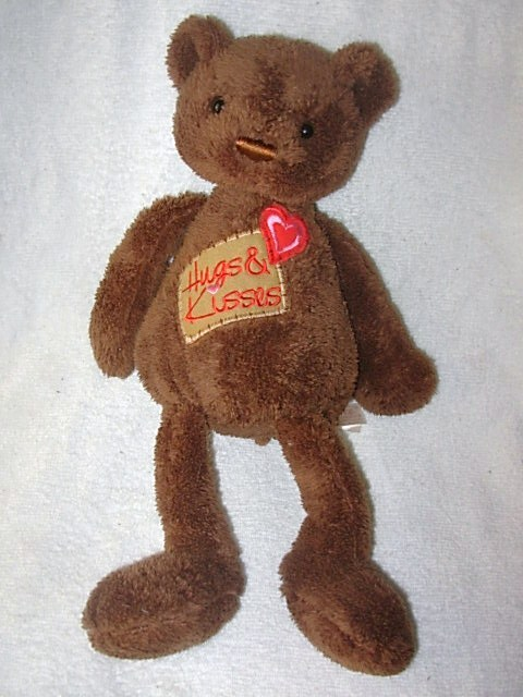 DanDee Dan Dee Cracker Barrel Hugs & Kisses Chocolate Bear