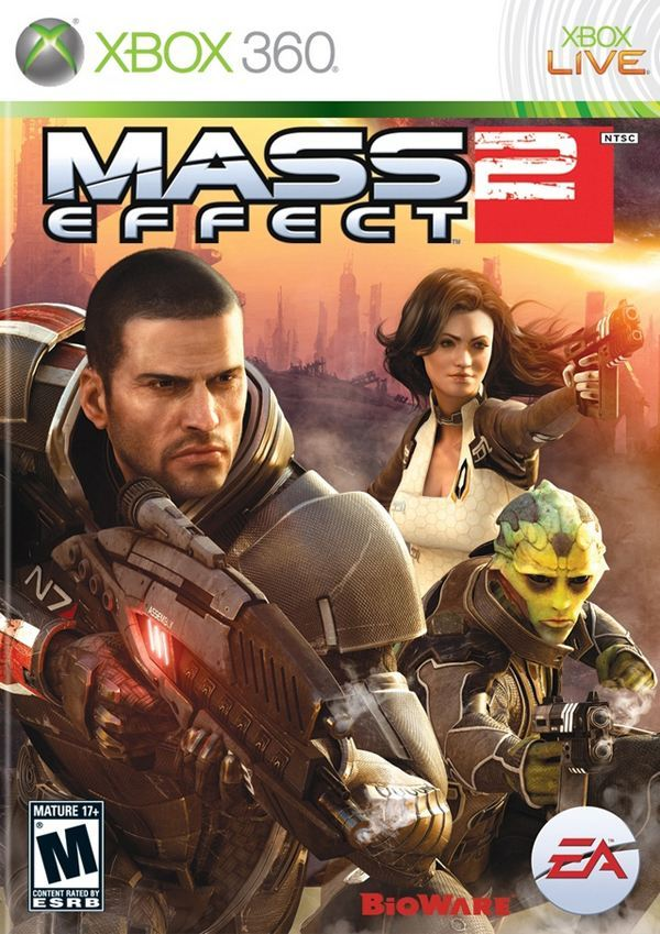 Mass Effect 2,  xbox 360 game
