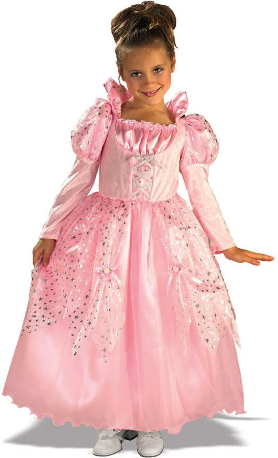 Posh Pink Fairy Tale Sleeping Beauty Princess Aurora Gown/Dress Costume, Rubies