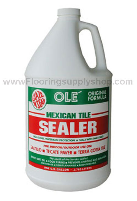 Glaze N Seal Ole Mexican Tile Sealer Gallon