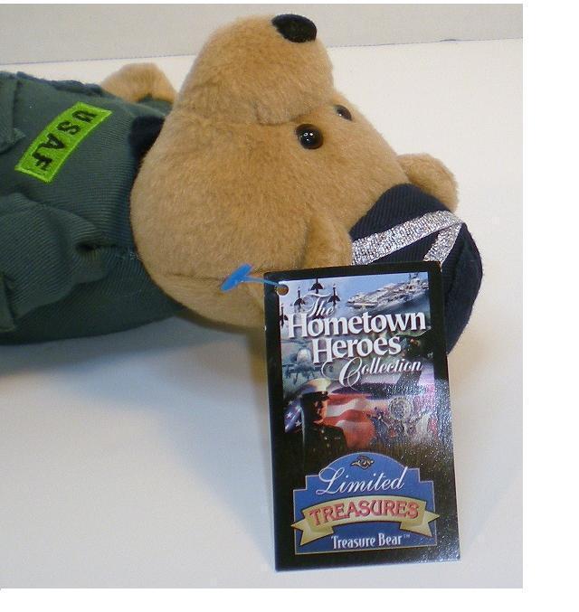 Image 3 of Guardian US Air Force Bear Hometown Heroes Limited Treasures