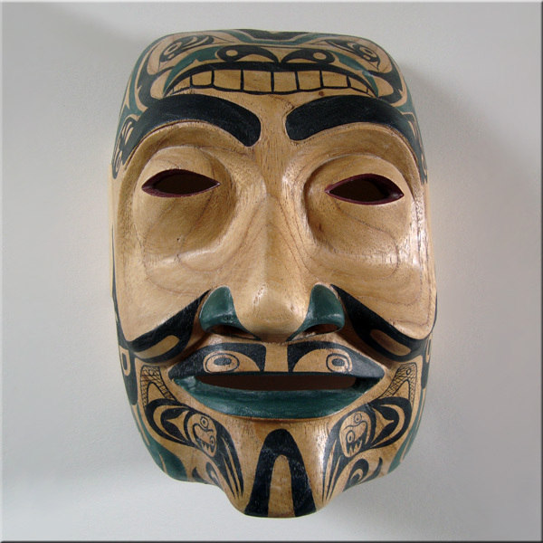 FAKE KWAKIUTL Indian MASK/NW Coast American/Tribal/Native