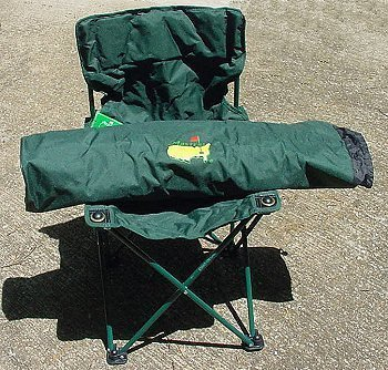 Masters Augusta Tournament Folding Chair Mint Golf