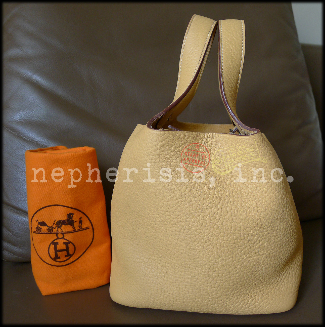 AUTH USED Hermes PICOTIN PM Bag Taurillon and 50 similar items