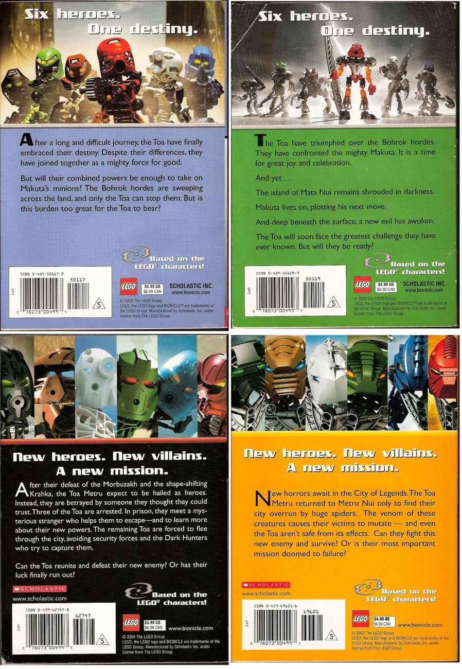 '.Bionicle Book Lot.'