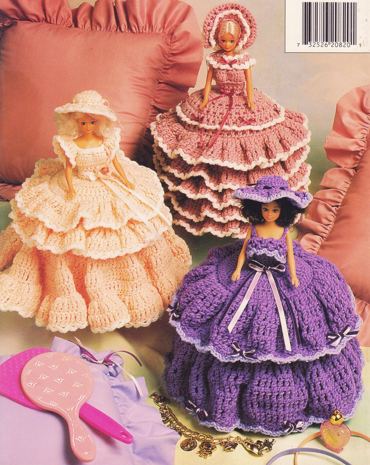 Southern Belle Trinket Boxes Crochet Patterns Fashion Doll