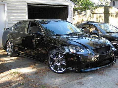 Nissan Altima 05 06 2005 2006 Se R Front Bumper Custom