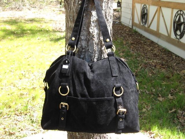 Handbag Purse Shoulder Bag Black Tote