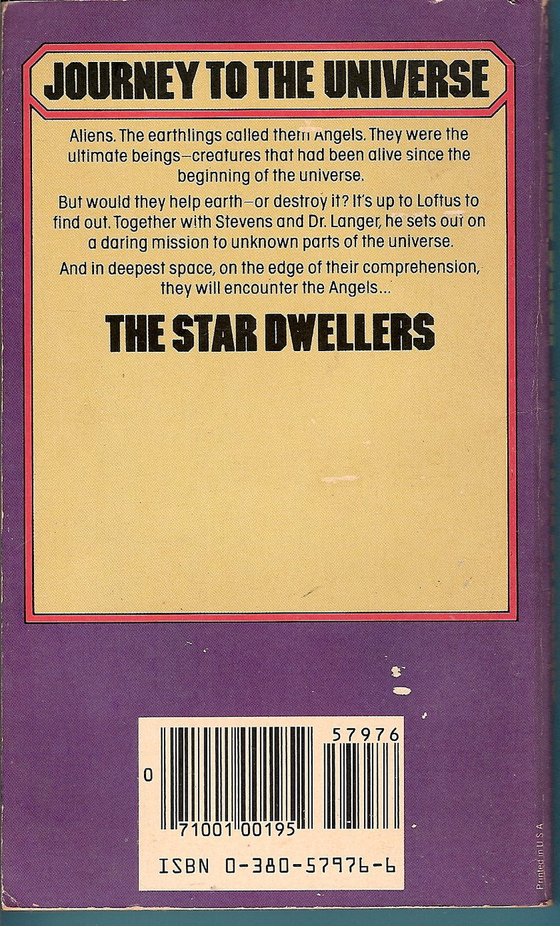 Image 1 of The Star Dwellers by James Blish 1982 Avon printing