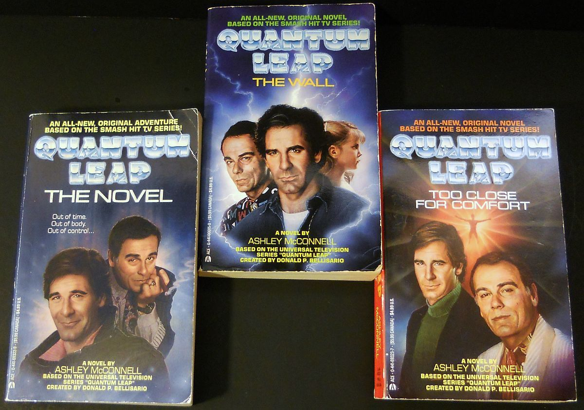 Image 0 of Quantum Leap 3 novels by Ashley McConnell 1992 TV Series