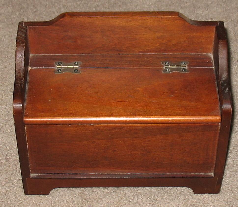Vintage Salesman 39 S Sample Blanket Chest Bench Trinket Boxes